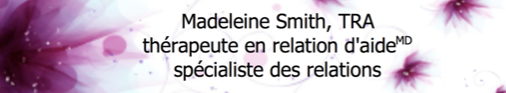 Madeleine Smith, TRA, thérapeute en relation d'aide